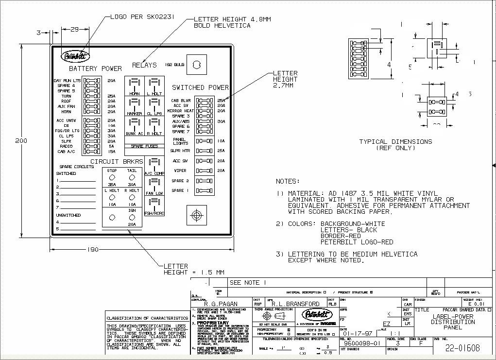peterbilt fuse diagram owner manual & wiring diagram peterbilt 379 cruise control 2003 peterbilt 379 fuse box diagram #2