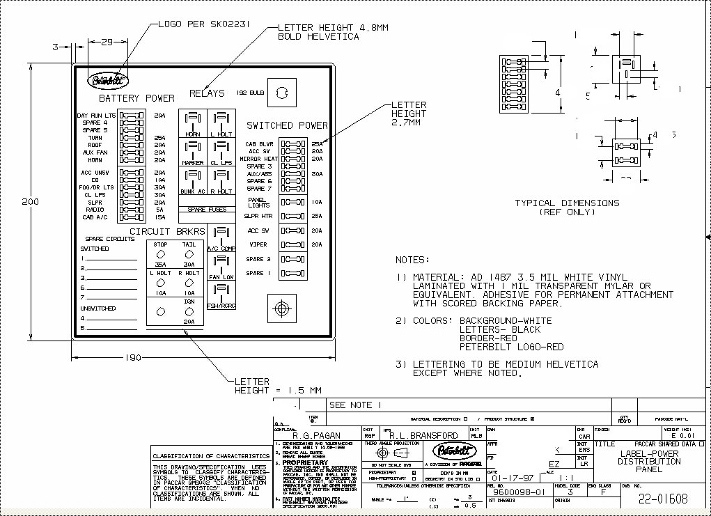 wiring diagram 2000 peterbilt model 379